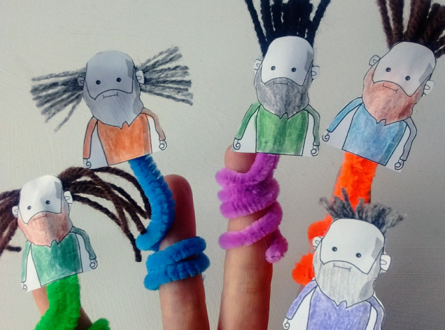 Ten finger puppets_The man who came back