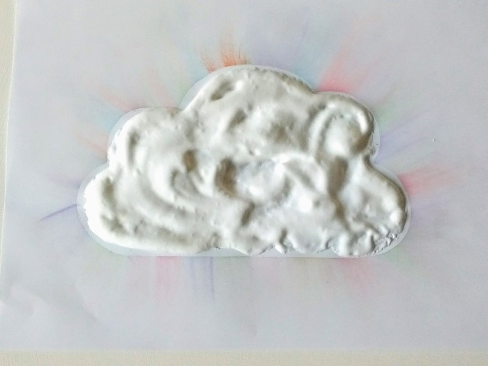 Puff-paint cloud_Home to Heaven