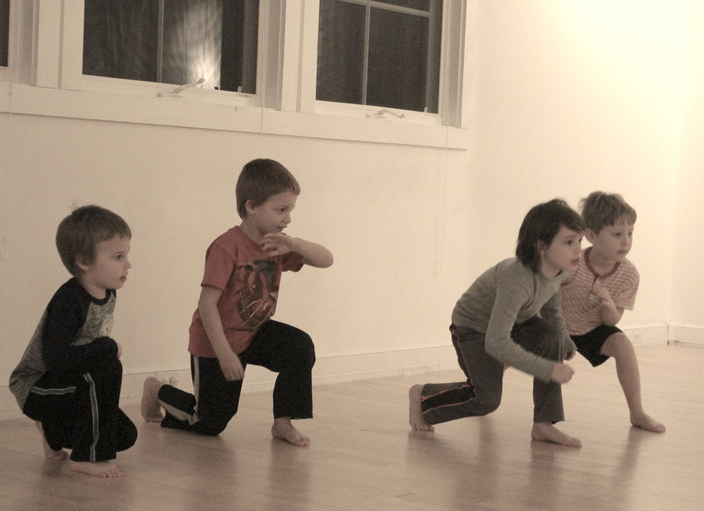 NINJA MOVES ages 7 - 9 MON 3:45 - 4:30pm