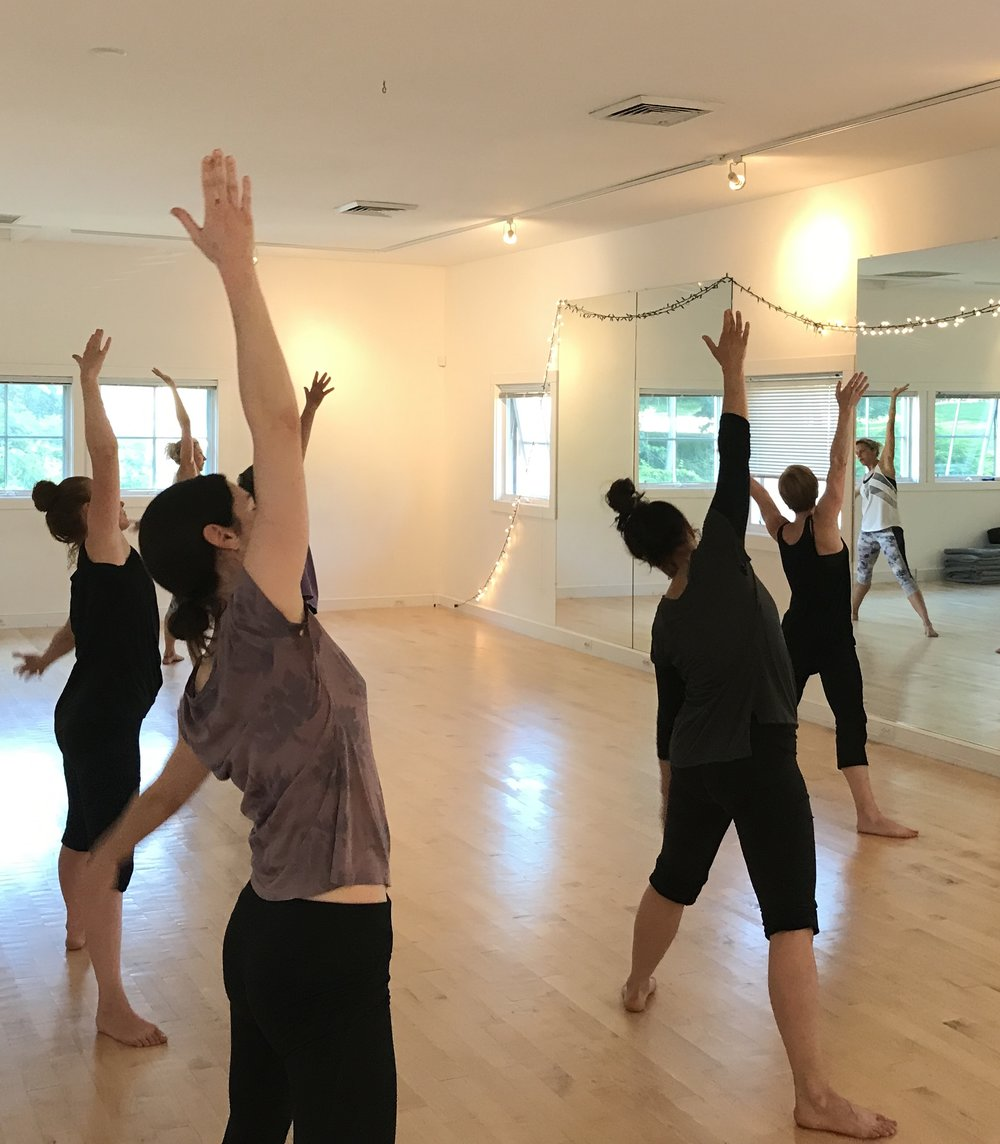 BODY & SOUL ages 18+ WED 6:30 - 7:30pm