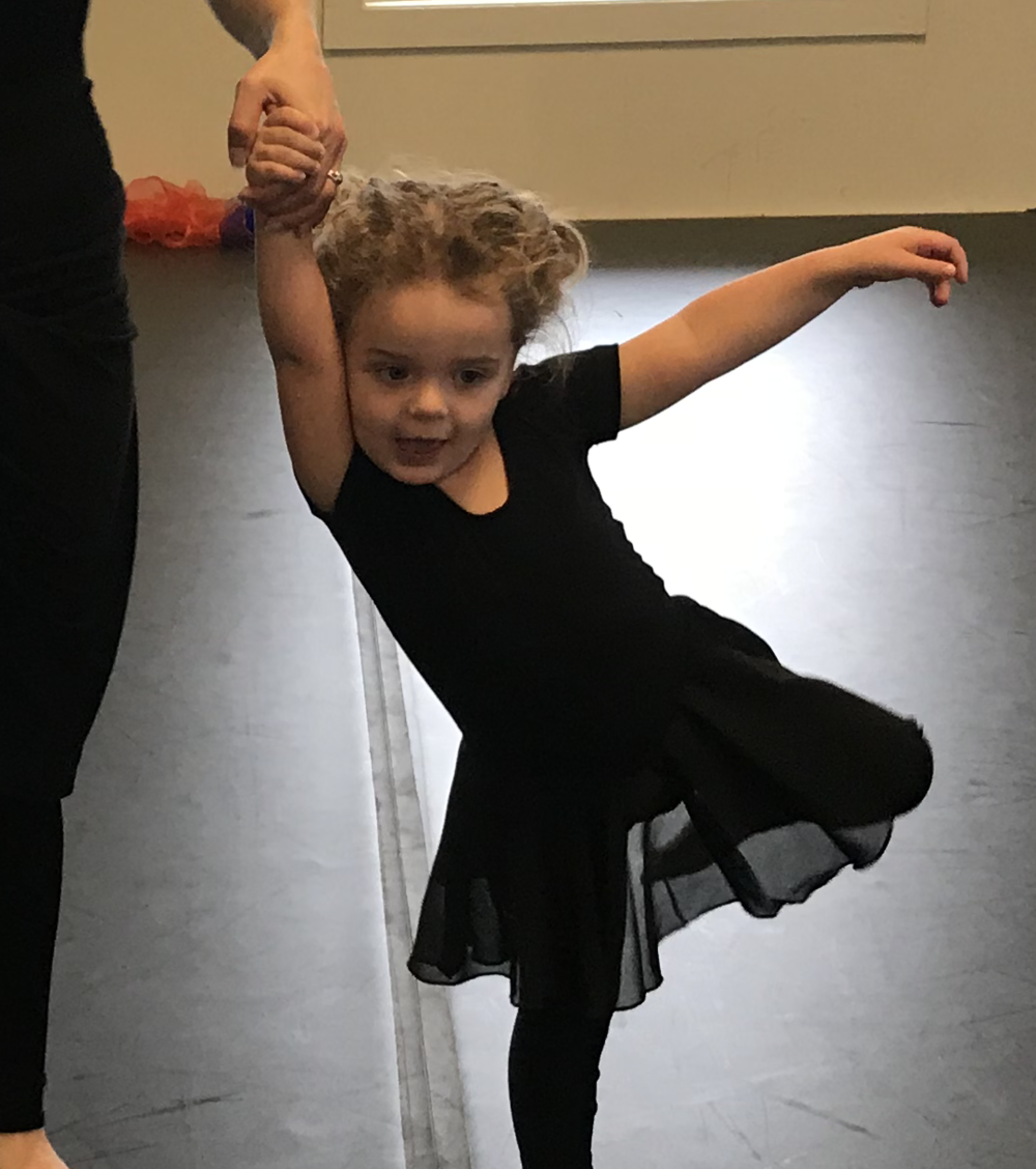 DANCE WITH ME  ages 18 months - 4 w/Adult  SAT 9:45 - 10:30 am
