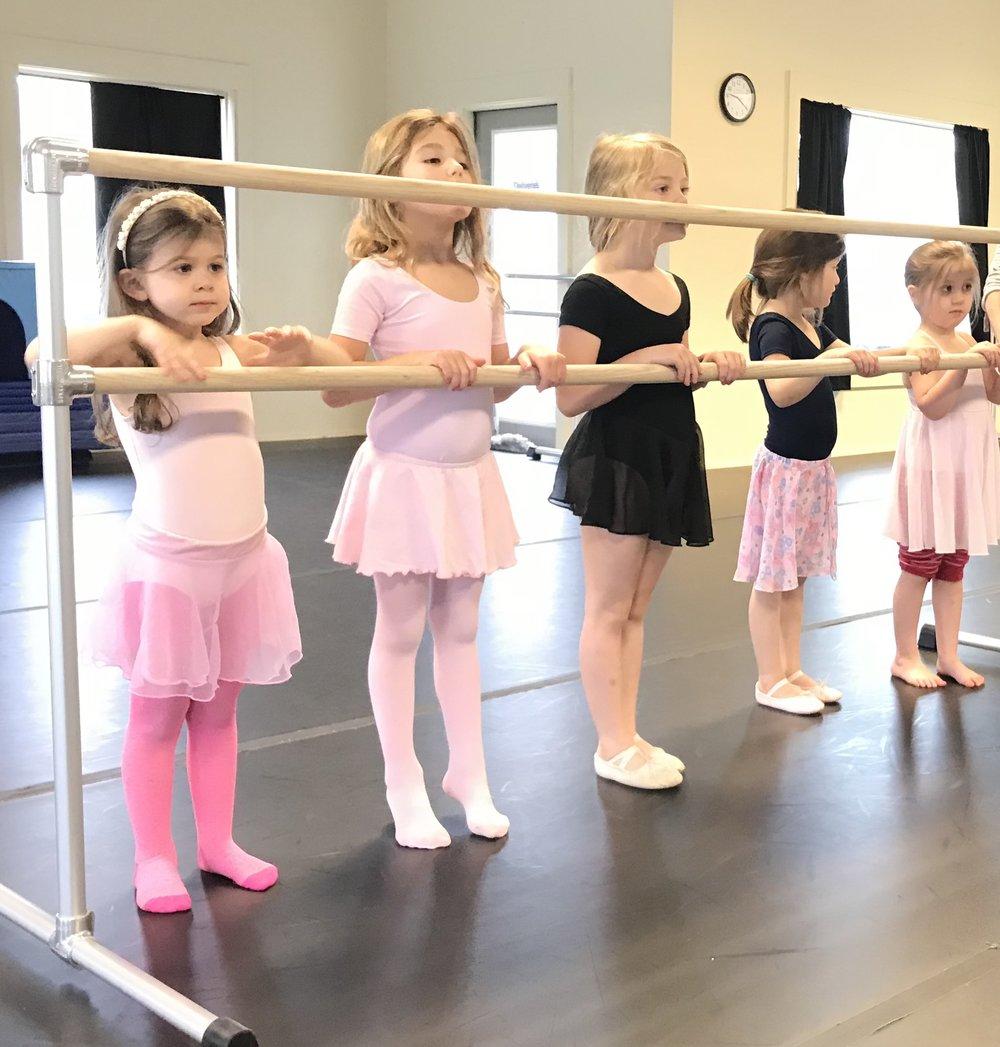 BALLET ARTS 1  ages 6 - 9  THURS 3:45 - 4:30 pm