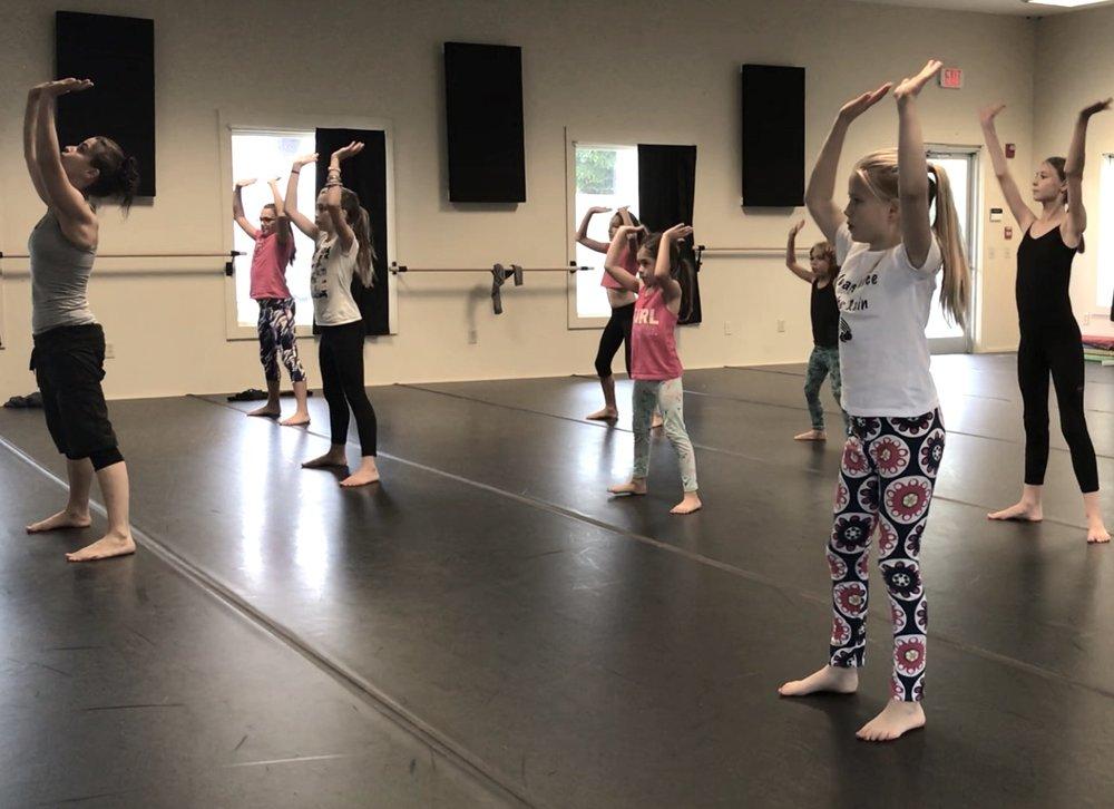 HipHop - DanceTech  ages 7-12  THURS 4:30 - 5:45 pm