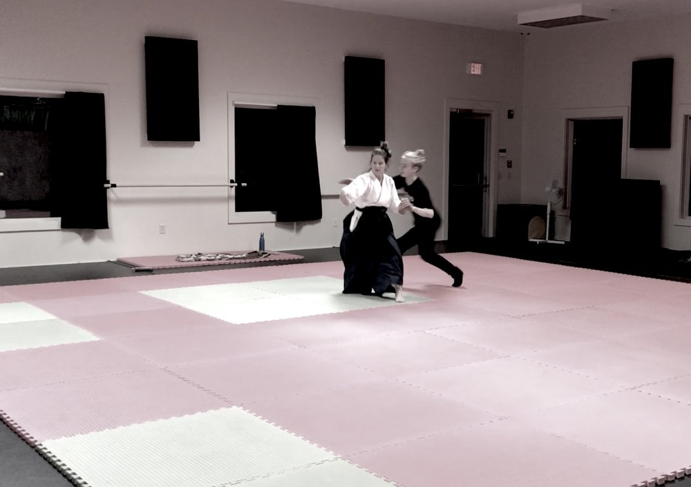 AIKIDO   Teen/Adult 13 +  MON 6:30 - 7:30 pm