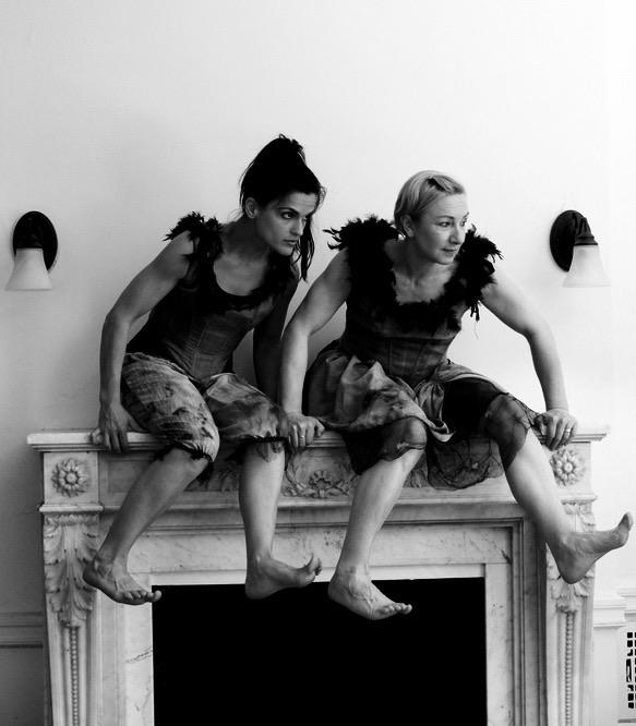 Tandem   Ellen Gorman & Andrea Blacklow  Photo by Eliza Abrams