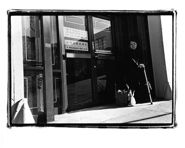 Silver Gelatin Print, Clay Street, Chinatown. San Francisco, Ca.
