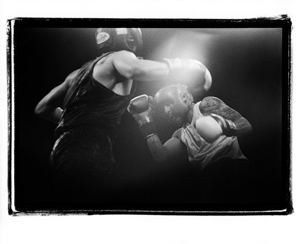 Fine Art Silver Gelatin Prints: Golden Gloves #12