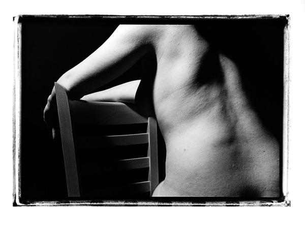 Silver Gelatin Print, Untitle, Nude #4