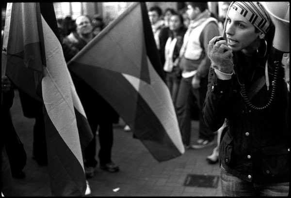 Black and White Photographs: Palestinian Protest #1