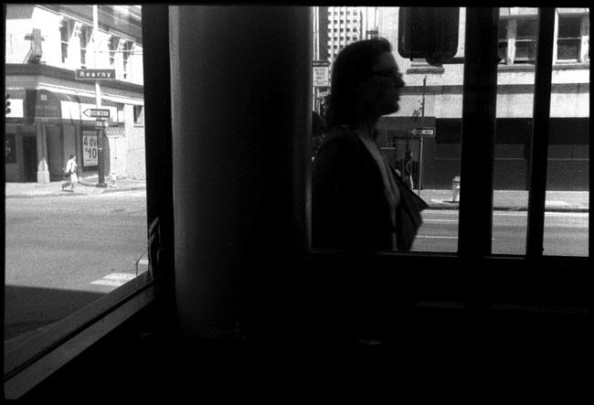 Black and White Photographs: Shop Window, San Francisco
