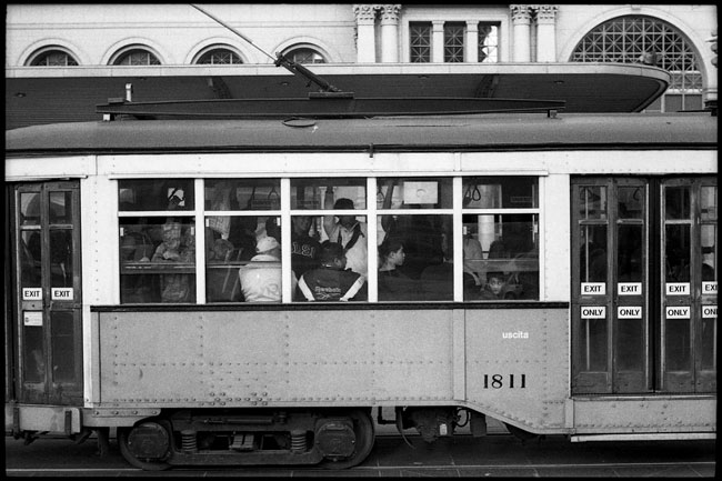 Black and White Photograph: Ferry Plaza #1