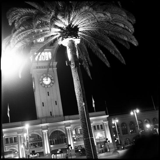 Black and White Photograph: The Embarcadero, San Francisco