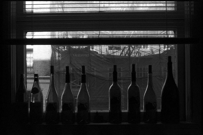 Black and White Photograph: Windowsill, San Francisco, 2010
