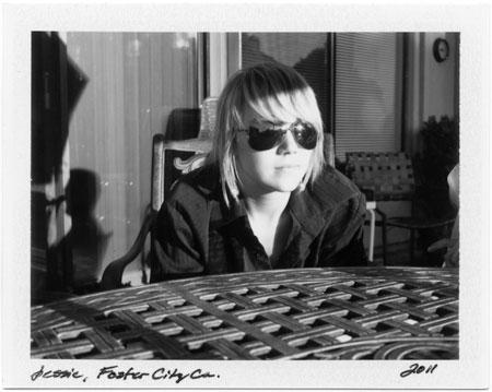 Polaroids: Jessie, Foster City, CA 2011