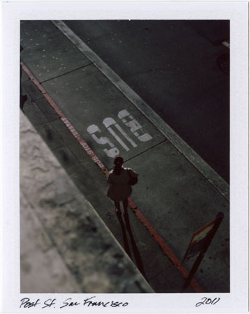 Polaroids: Post Street, San Francisco, 2011