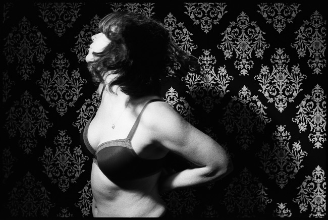 Black and White photograph: Nicole, Nude. San Francisco 2011