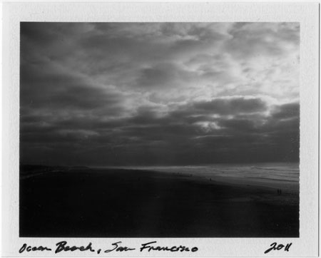 Polaroid: Ocean Beach, San Francisco, 2011