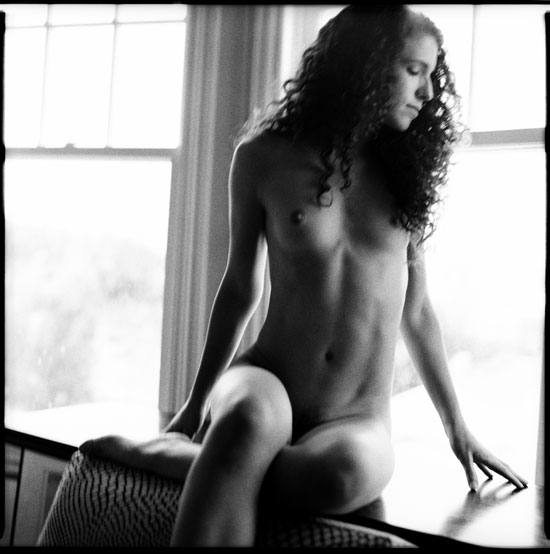 Black and white photographs: untitle nude, san francisco, ca, 2011