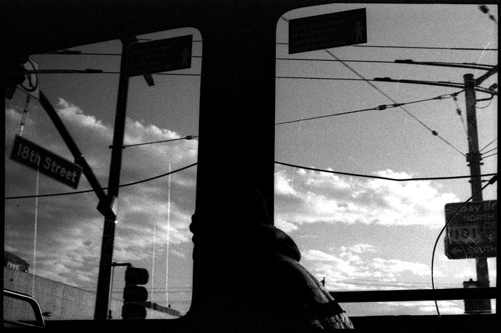 0229_13A black and white photograph, 18th street, san francisco, california, 2012