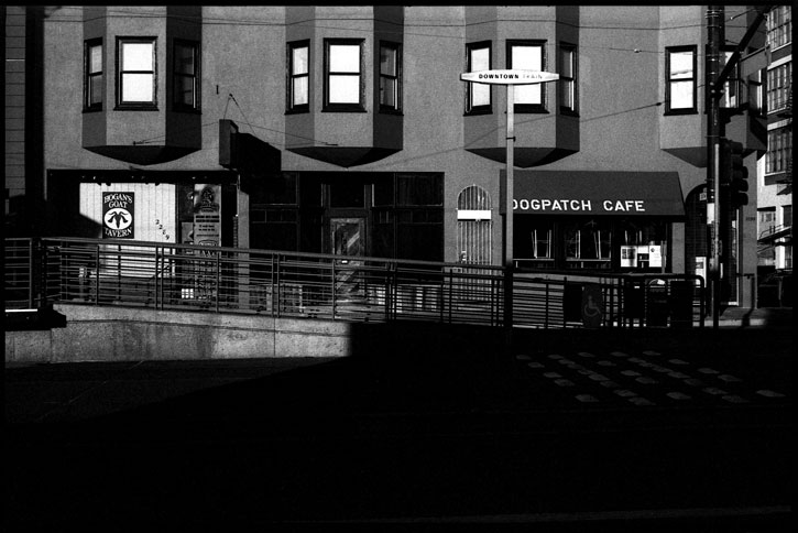 0229_17A black and white photograph, dogpatch cafe, san francisco 2012