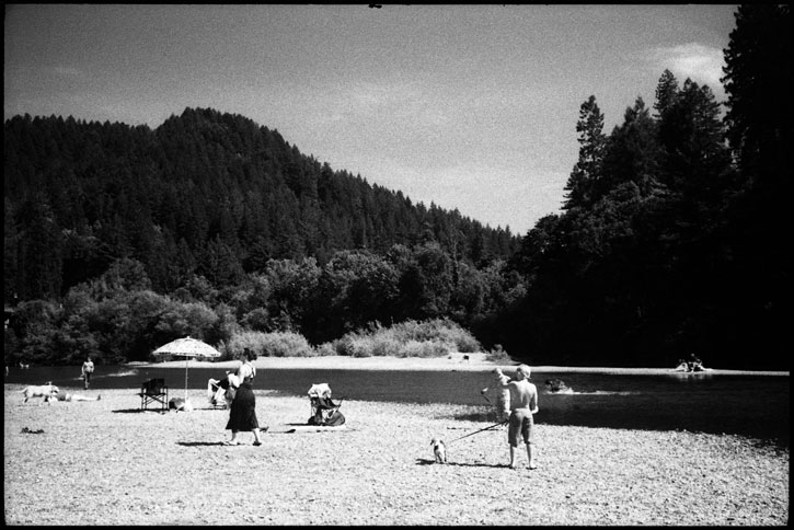 0230_10A black and white photograph, russian river, northern california