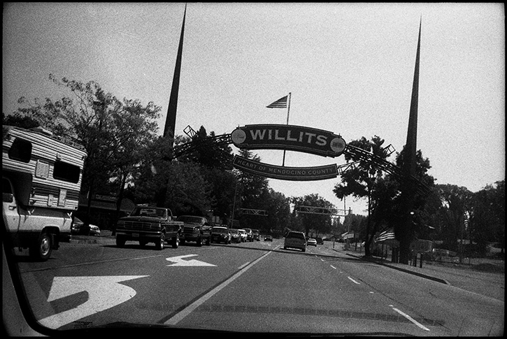 0237_20A Black and White Photographs: Willits, Norhtern California