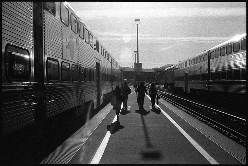 Train Platform, San Francisco 2012