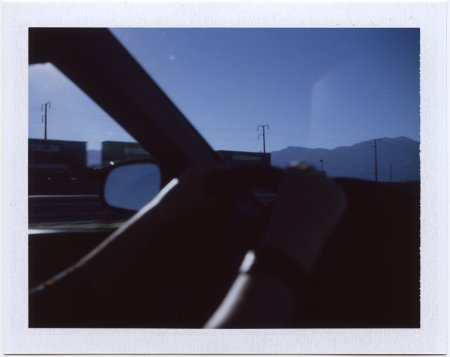 polaroid, Hwy 10 West, California