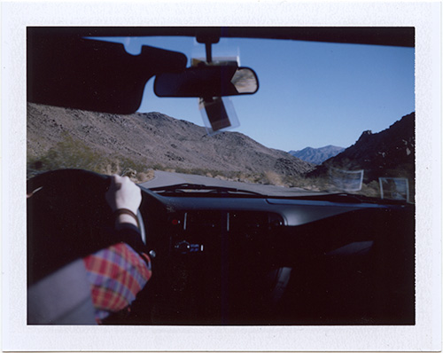 Polaroid: Joshua Tree, California