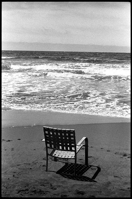 0268_21A black and white photograph, ocean beach, san francisco