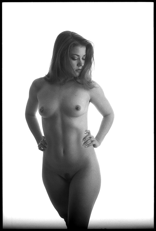 black and white photograph untitled nude