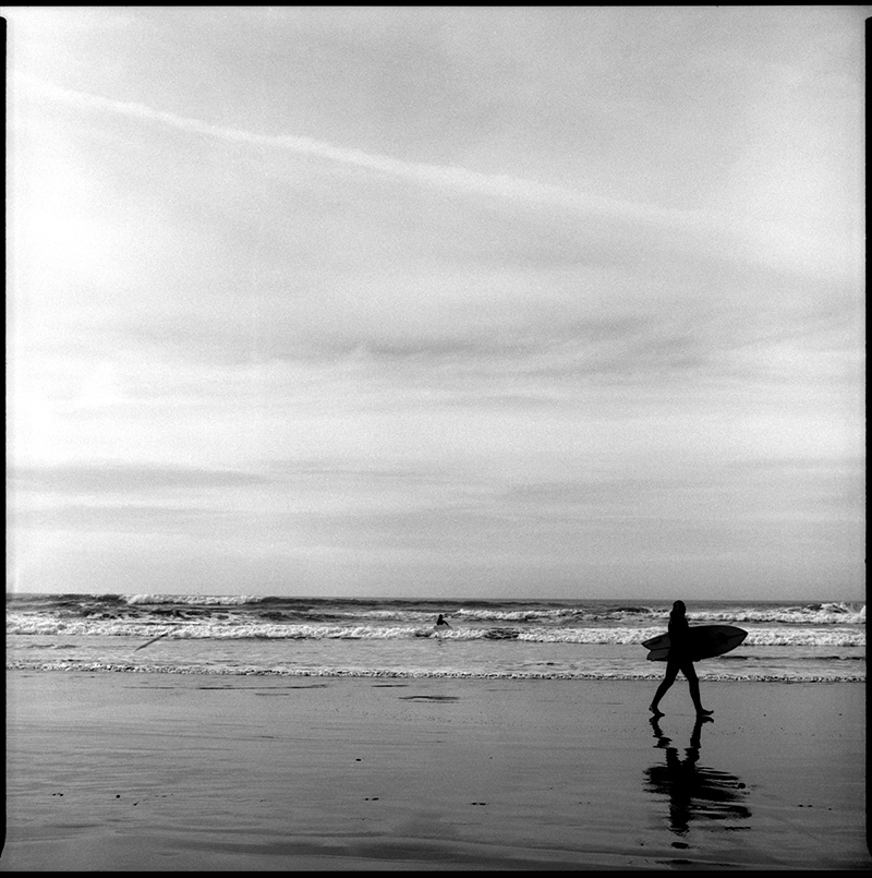 black and white photograph 660115_10-11 Ocean Beach, San Francisco