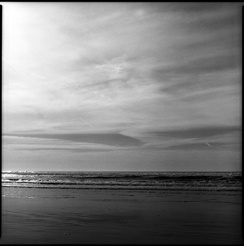 Black and White Photograph 660115_13-14 Ocean Beach San Francisco
