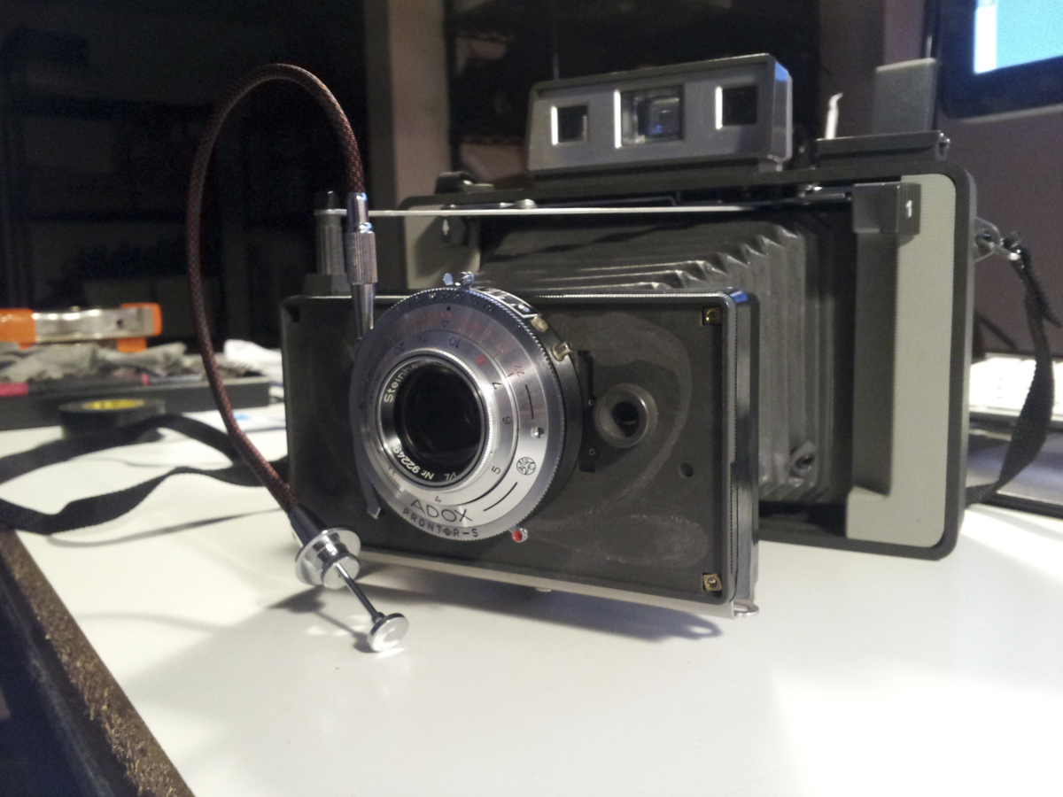 Modified Polaroid 420 Land Camera