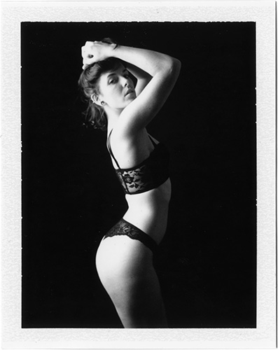 p20140919_02 Aubrey, Original Polaroid Print