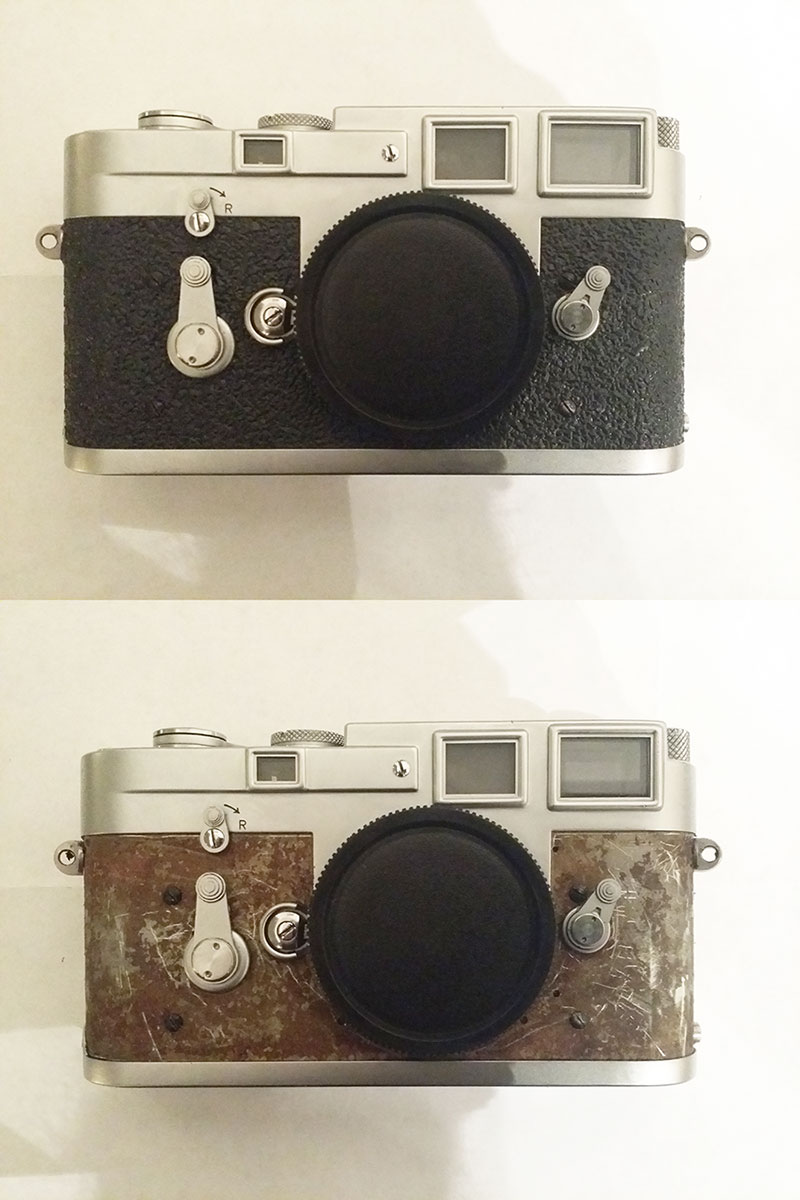 Leica M3, New Leather Covering