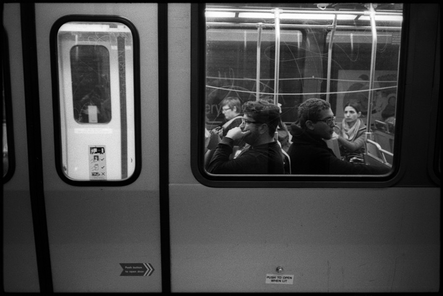 0332_0A MUNI Commuters, San Francisco