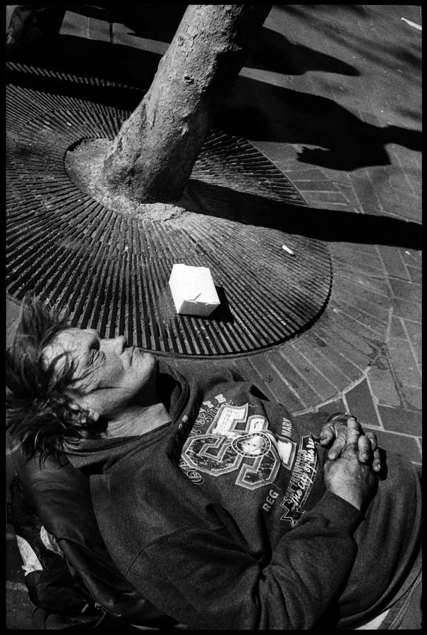 0345_02A Sleeping Man, Market Street