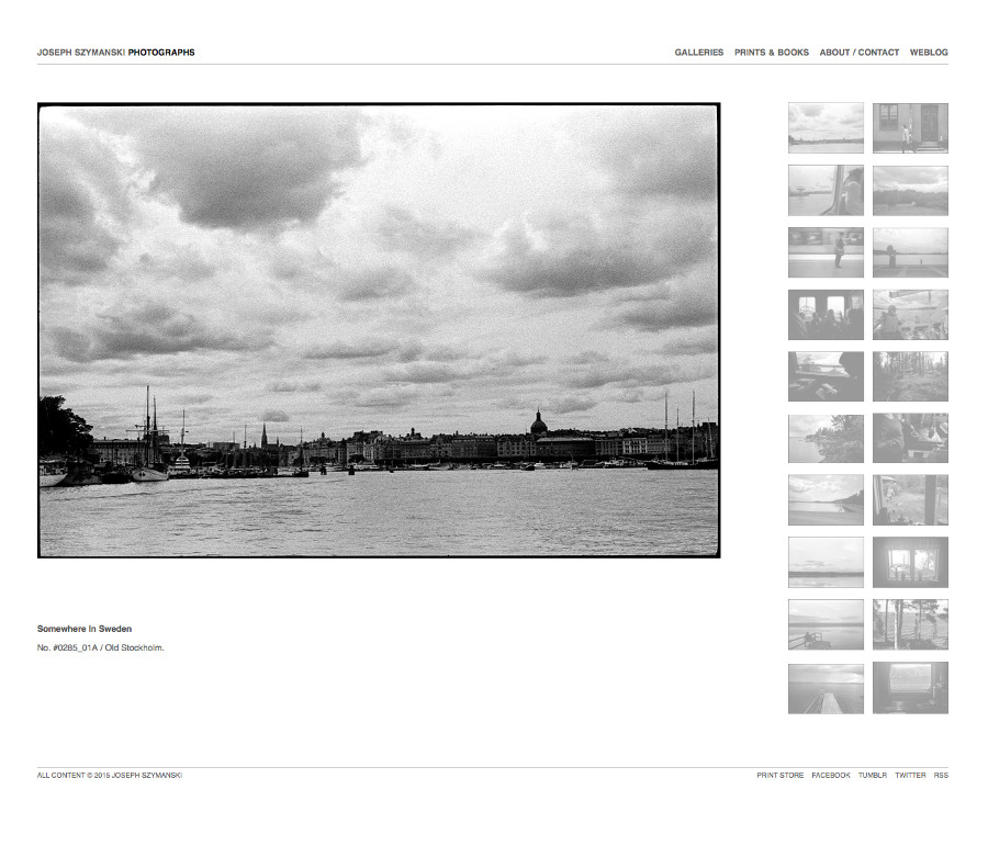 Sweden Gallery Black and White Photography