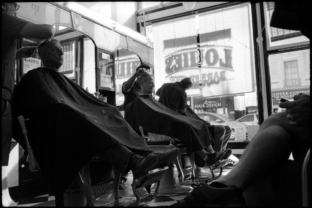 0373_20 Louie's Barber Shop, San Francisco