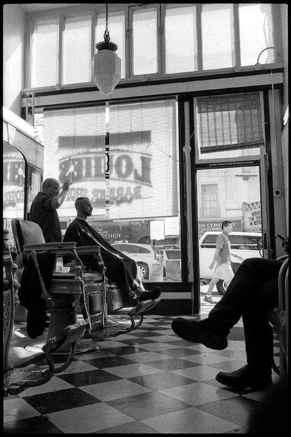 0373_22 Louie's Barber Shop, Castro San Francisco