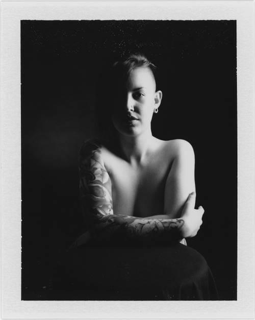 p20151004_105 Marina, Polaroid Portrait