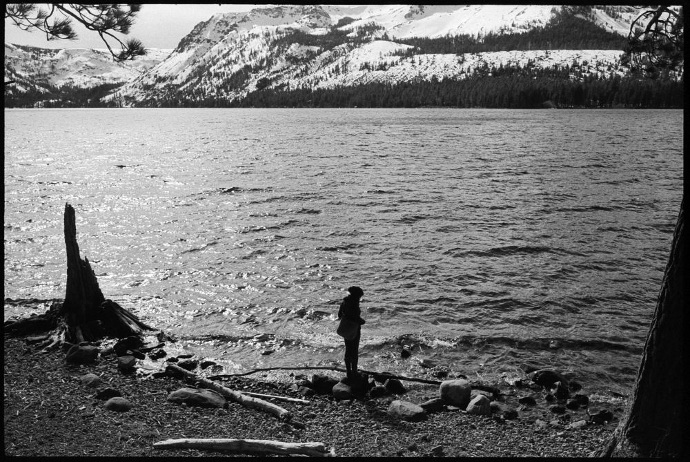 #0432_15A - Fallen Leaf Lake, CA. February 2016. Leica M2, Zeiss 35mm f/2, Ilford HP5 400.
