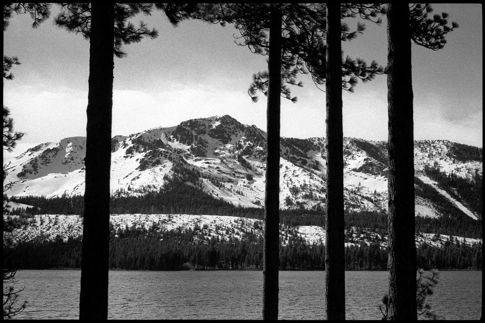 #0433_18A - Fallen Leaf Lake, CA. February 2016. Leica M3, Zeiss 50mm f/1.5, Ilford HP5 400.