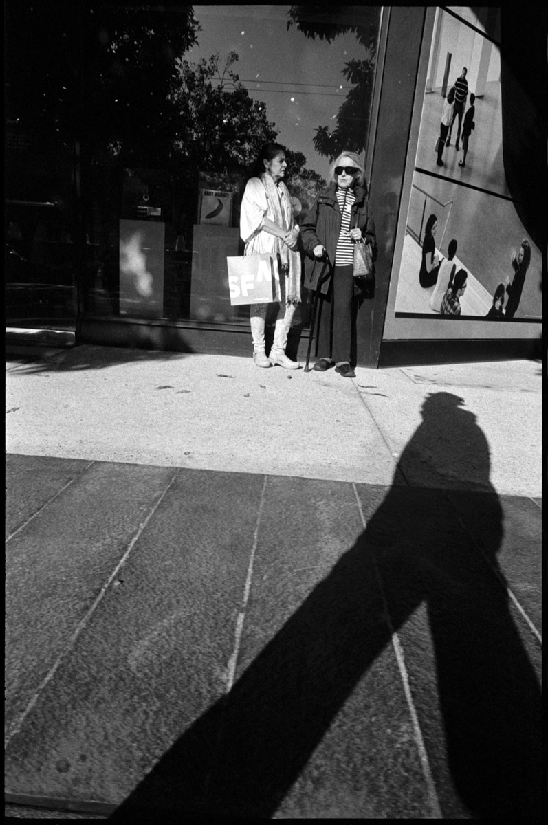 #0469_31A - Museum Goers, 3rd Street. San Francisco, CA. September of 2016.