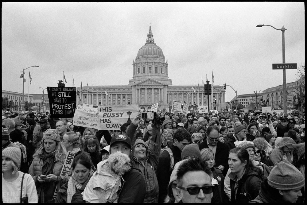 Women's March, San Francisco