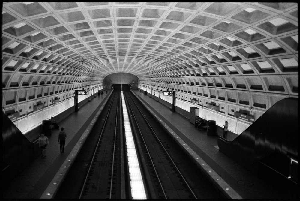 #0564_07 - Metro Station, Washington, DC 2017