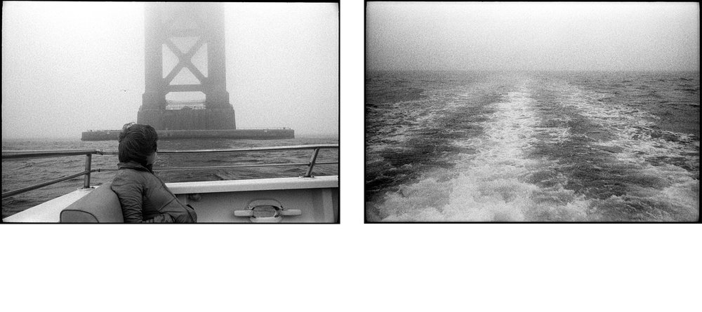 "#0267_29A / 0267_25A - Under the Golden Gate. San Francisco Bay, California / 2013   Excerpts from the book  ""Fragments""    Signed Copies   On Demand @Blurb   Online Shop"