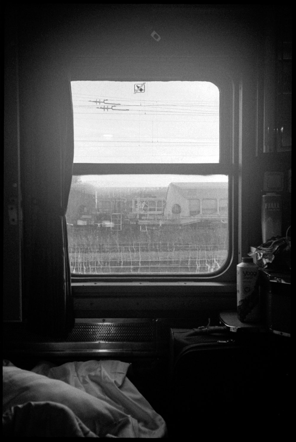 "#0293_32A - Train window. Somewhere in Sweden / 2014   Excerpts from the book  ""Fragments""    Signed Copies   On Demand @Blurb   Online Shop"