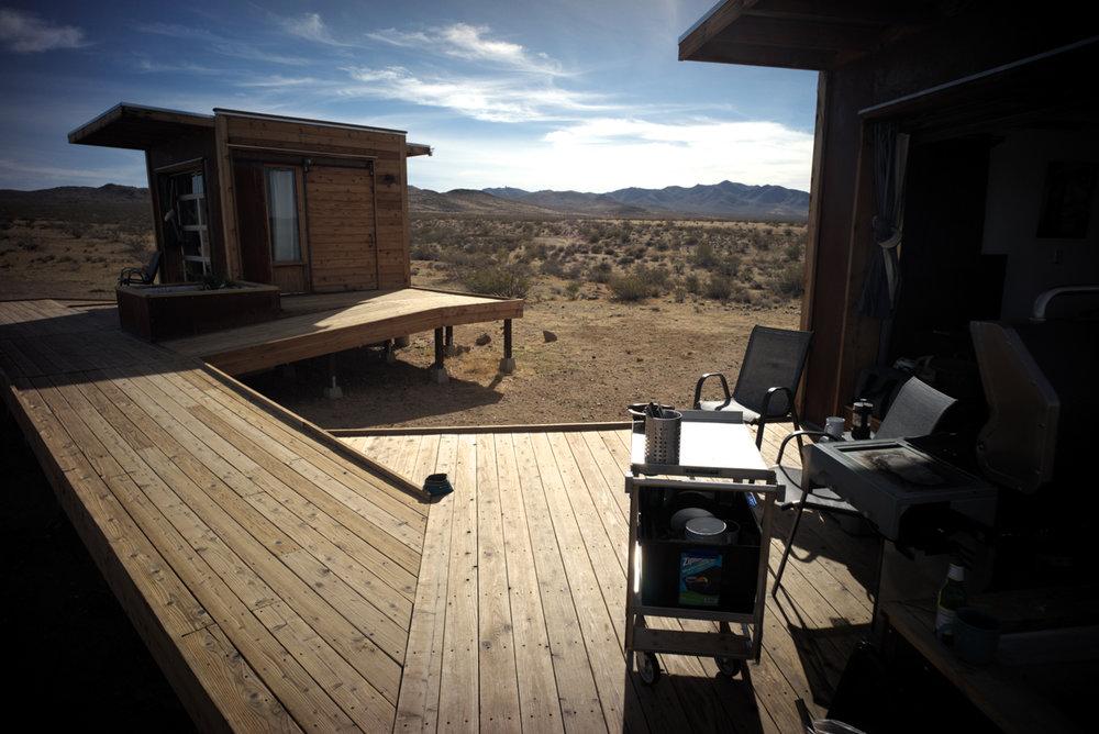 Desert Eco Pods